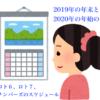 (昨年の過去記事です)日程カレンダー