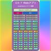 ロト7アプリ完成!!予想のお供に!!数字検討ツールの決定版です。フレンドリーな仕様で使い方は超わかりやすい!!