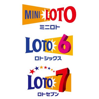ミニロトとロト6とロト7合同のアイコン用の画像です。